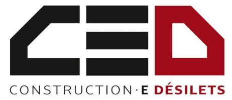 Construction E. Désilets, Entrepreneur général - Logo